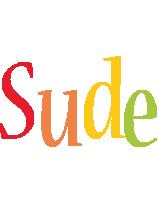 Sude birthday logo