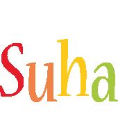 Suha birthday logo