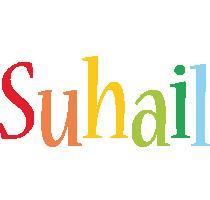 Suhail birthday logo