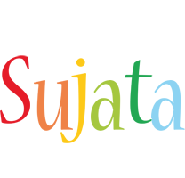 Sujata birthday logo