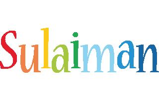 Sulaiman birthday logo