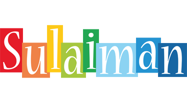 Sulaiman colors logo