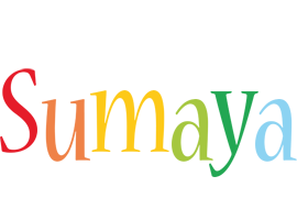 Sumaya birthday logo