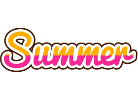 Summer smoothie logo