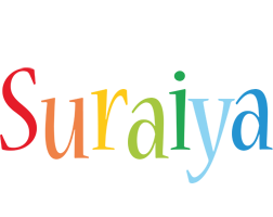 Suraiya birthday logo