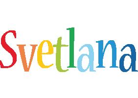 Svetlana birthday logo