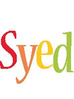 Syed birthday logo