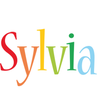 Sylvia birthday logo
