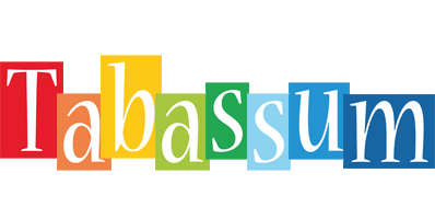 Tabassum colors logo