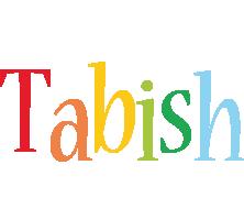 Tabish birthday logo