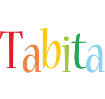 Tabita birthday logo