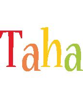 Taha birthday logo