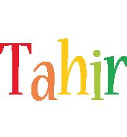 Tahir birthday logo