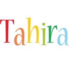 Tahira birthday logo