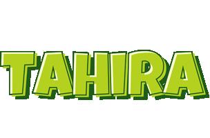 Tahira summer logo