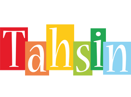 Tahsin colors logo