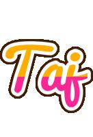 Taj smoothie logo