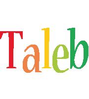 Taleb birthday logo