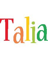 Talia birthday logo