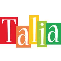 Talia colors logo