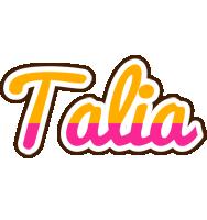 Talia smoothie logo
