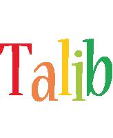 Talib birthday logo