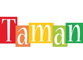 Taman colors logo