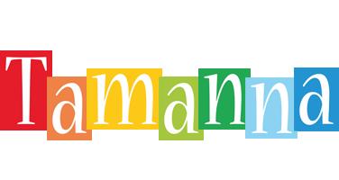 Tamanna colors logo