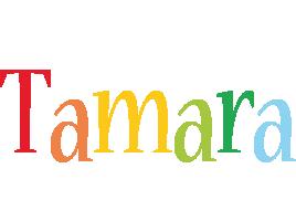 Tamara birthday logo