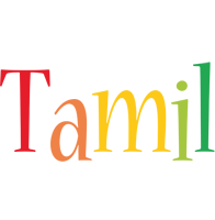 Tamil birthday logo