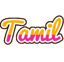Tamil smoothie logo