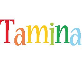 Tamina birthday logo