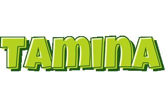 Tamina summer logo