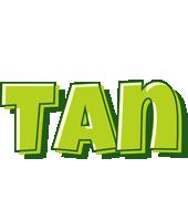 Tan summer logo