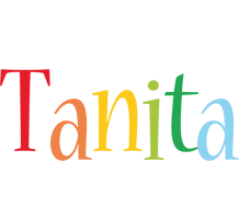 Tanita birthday logo