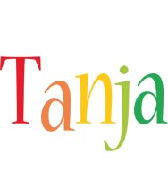 Tanja birthday logo
