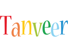 Tanveer birthday logo