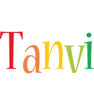 Tanvi birthday logo