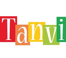 Tanvi colors logo