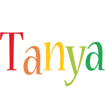 Tanya birthday logo