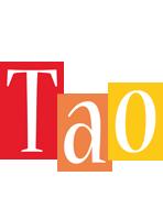 Tao colors logo