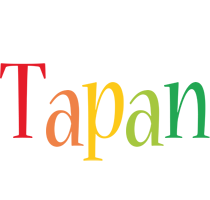 Tapan birthday logo