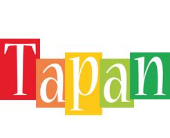 Tapan colors logo