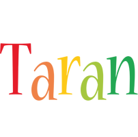 Taran birthday logo