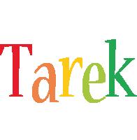 Tarek birthday logo