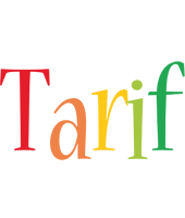 Tarif birthday logo