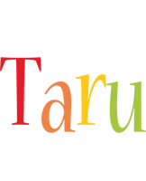 Taru birthday logo