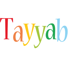 Tayyab birthday logo