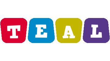 Teal kiddo logo