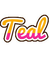 Teal smoothie logo